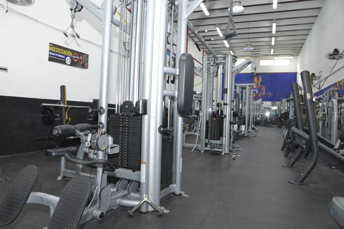 Gym fondo santa coloma
